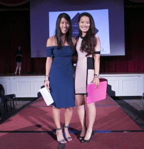 Christy and Justine , Fashion Show Co-Chairs, Photo by ChristopherHuang.com