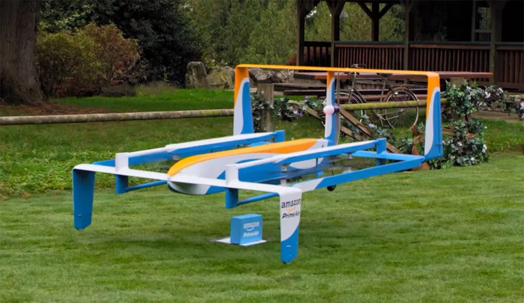 Universal drone delivery would complete eCommerce revolution in retail