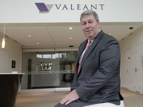 Michael Pearson, CEO Valeant Pharmaceuticals