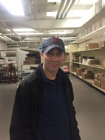 Name: Ronnie DeAlmeida Role: Student Packages Service Years at HBS: 27 years Most memorable HBS experience: Over the years, I've seen so many different items bought by HBS students, they hardly surprise me anymore. The other day we had an electric bike shipped here… Fun Fact: I DJ on the weekend for private parties!