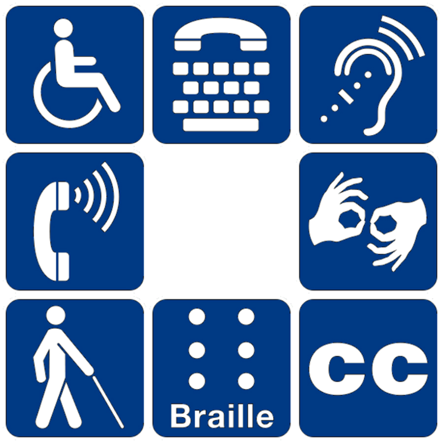 Disability Symbols The Harbus