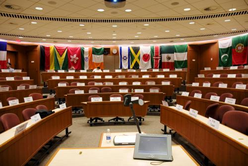 Trump Order: Fewer Flags In The HBS Classroom?