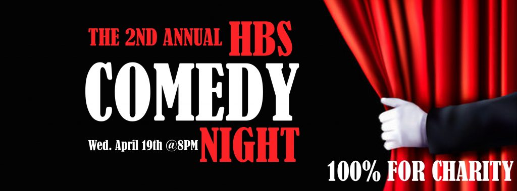 HBS Comedy Night: Stand up comedy for charity