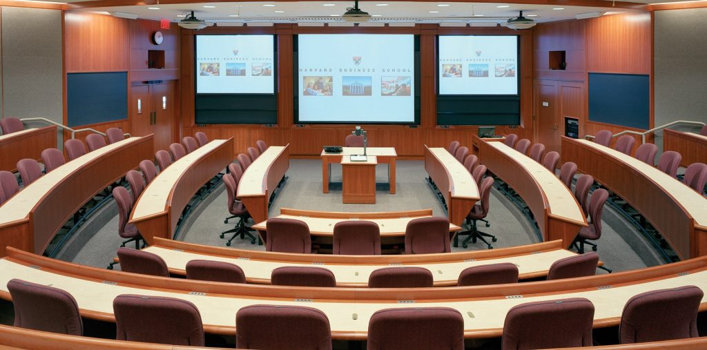 HBS to Improve  Classrooms with new First and Business Class Seating