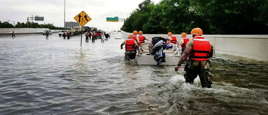 Making sense of Harvey, What the hurricane means for our HBS community