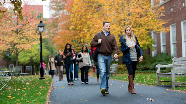 Admitted Students Welcome: Round 1 Admits Visit Campus