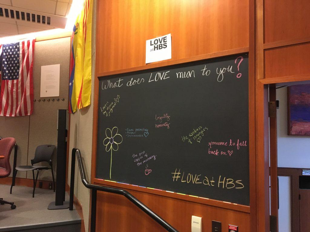 Celebrating LOVE at HBS