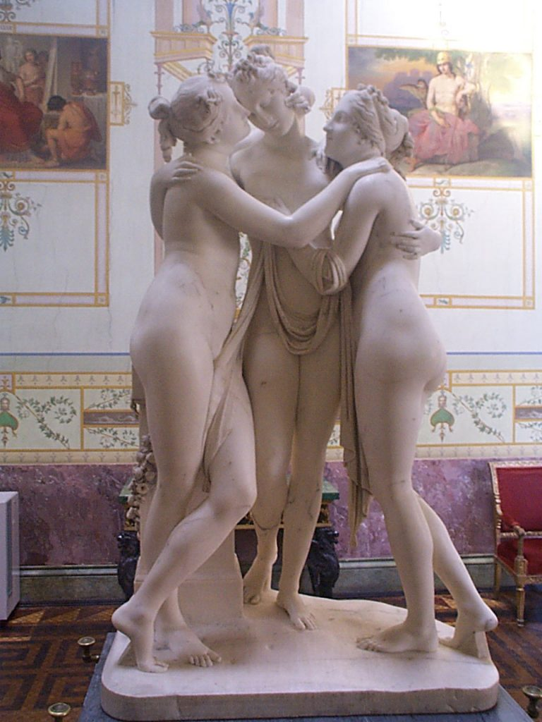 The Three Graces for MBAs Today