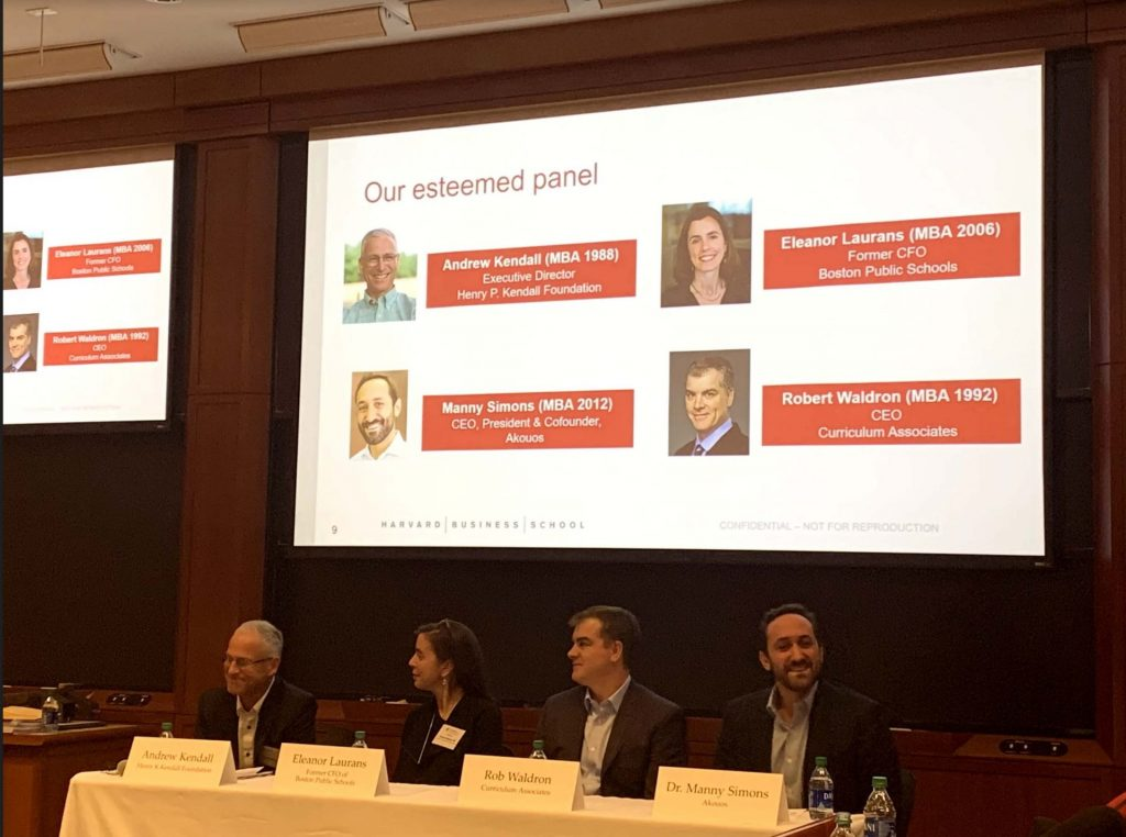 Problem Solving: HBS Alumni Making a Difference